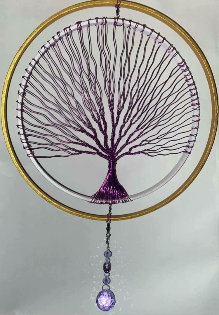 Wire Art*Spinning Tree Of Life*May 15th*2pm