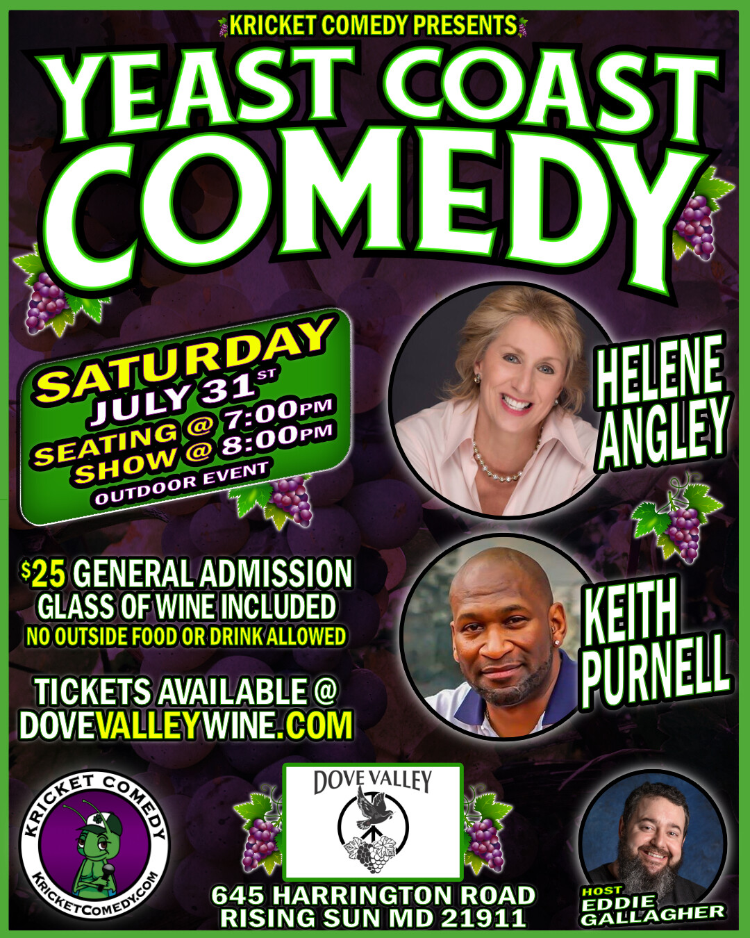 Comedy Show*July 31st