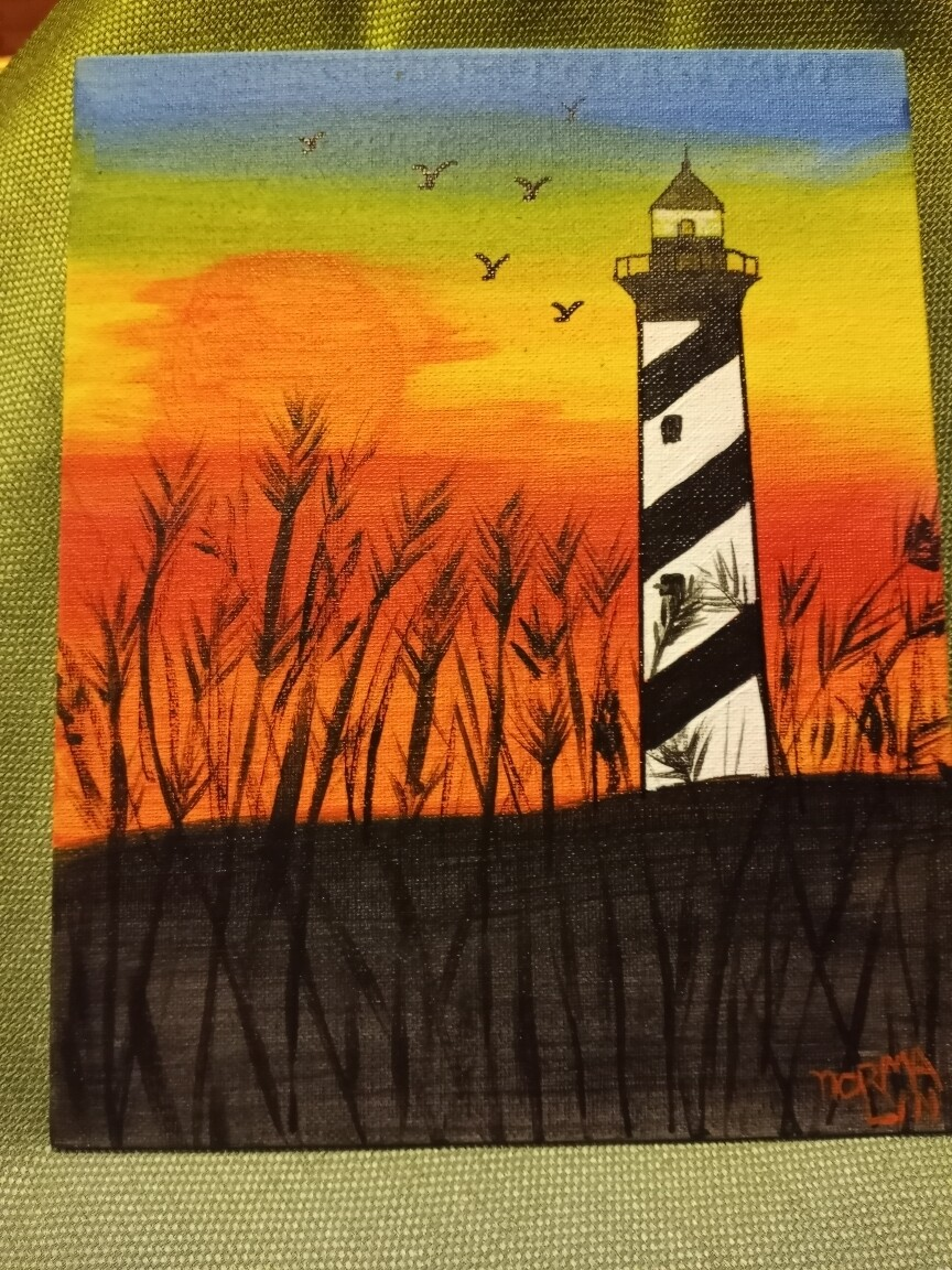 Lighthouse Painting*May30th*1pm