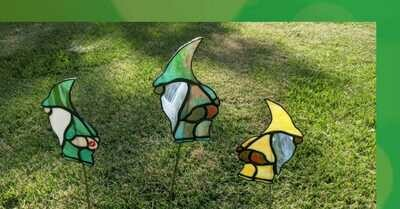 Mooning Gnomes Stained Glass *July 24th*11:30am