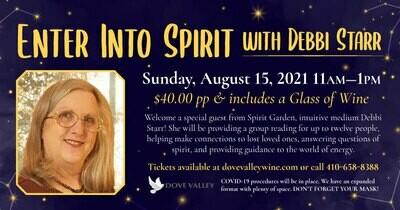 Enter Into Spirits*Aug.*15th*11am