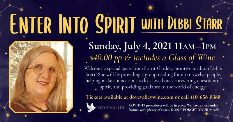 Enter Into Spirit*July 4th*11am-1pm