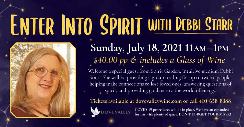 Enter Into Spirit*July 18th*11am