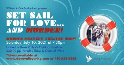 *Set Sail for Love and Murder*July 10th*6:30pm