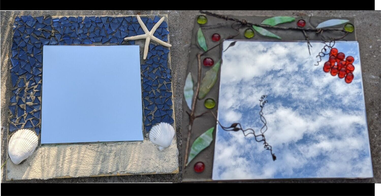 Mosaic Mirror  August14th* 12pm