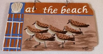 Painted Slate*Sandpipers Aug.28th*12pm