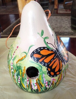 Birdhouse Gourd Workshop/Butterfly *Aug.29th*12pm