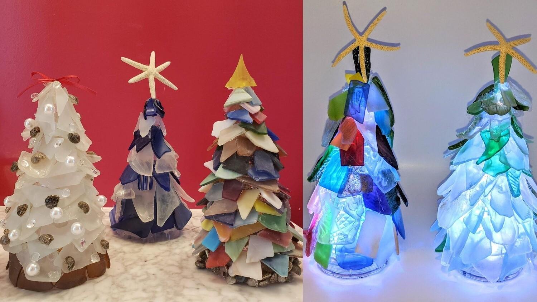 Dec.4th*Sea Glass Christmas Tree*12pm
