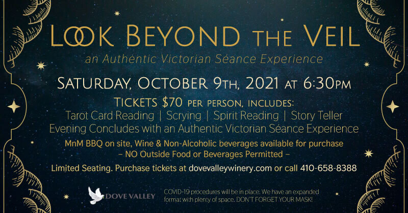SOLD OUT *Look Beyond the Veil*Oct.9th*6:30pm