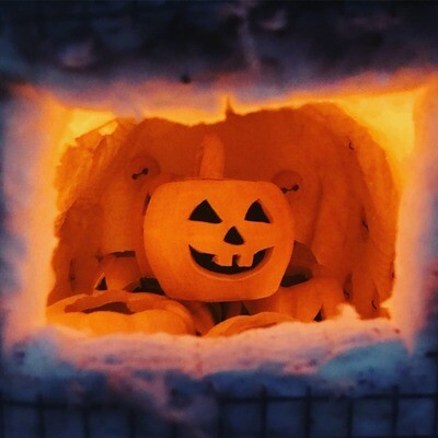 Raku Glazing Pumpkins*Oct.9th*11am