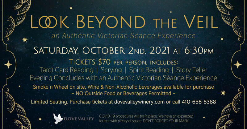 Look Beyond the Veil*Oct.2nd*6:30pm