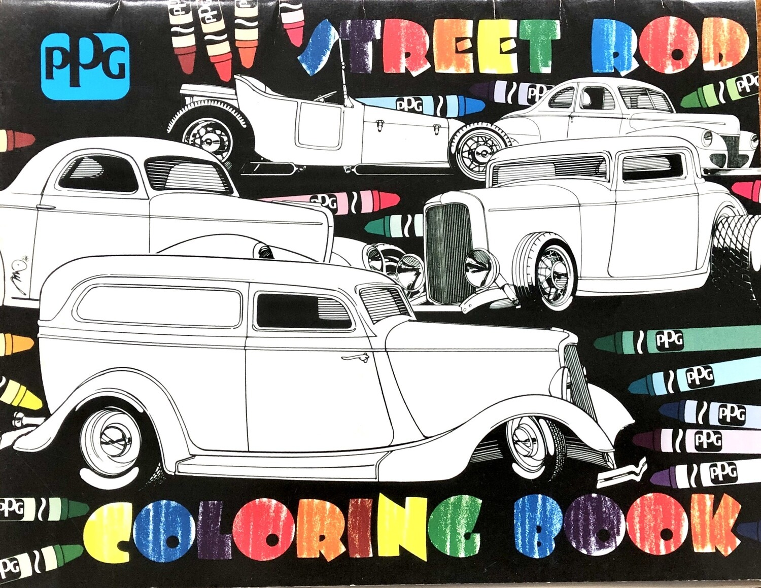 Street Rod Coloring Book