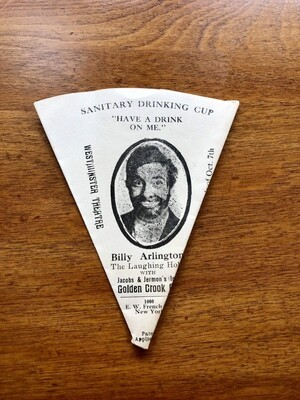Billy Arlington Laughing Hobo Drinking Cup