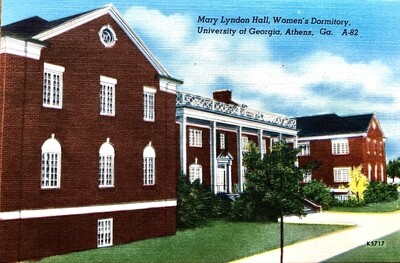 Mary Lyndon Hall Women's Dorm UGA Athens GA