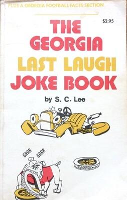 Georgia Georgia Tech Last Laugh Joke Book by S.C. Lee