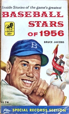 Baseball Stars of 1956 by Bruce Jacobs