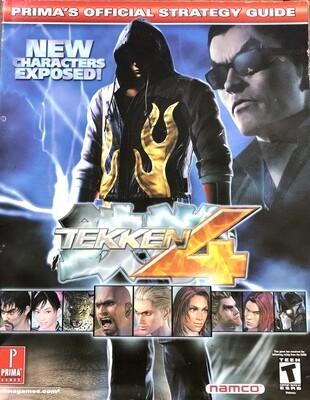 Tekken 4: Prima's Official Strategy Guide