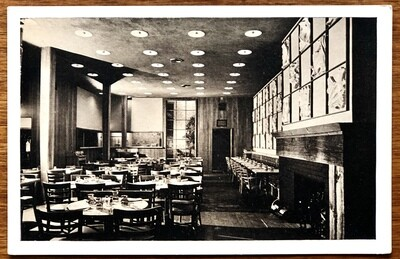 Sea Fare Restaurant New York Lumitone Photoprint Vintage Postcard