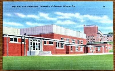 Drill Hall and Natatorium University of Georgia Athens Ga.