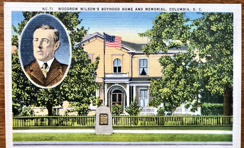 Woodrow Wilson's Boyhood Home Columbia SC