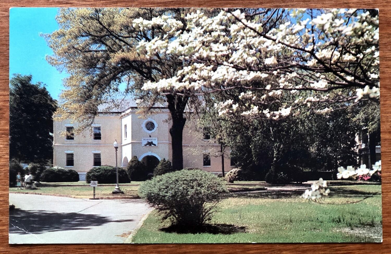Augusta College Administration Bldg Augusta GA Postcard