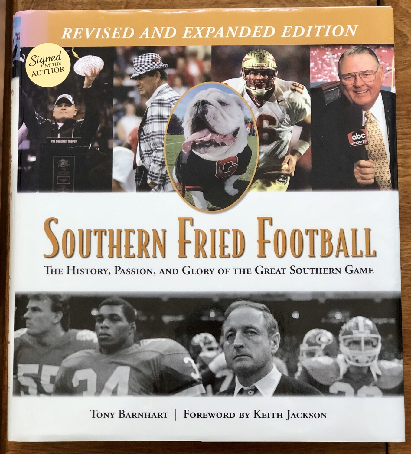 Southern Fried Football by Tony Barnhart Signed Revised Edition