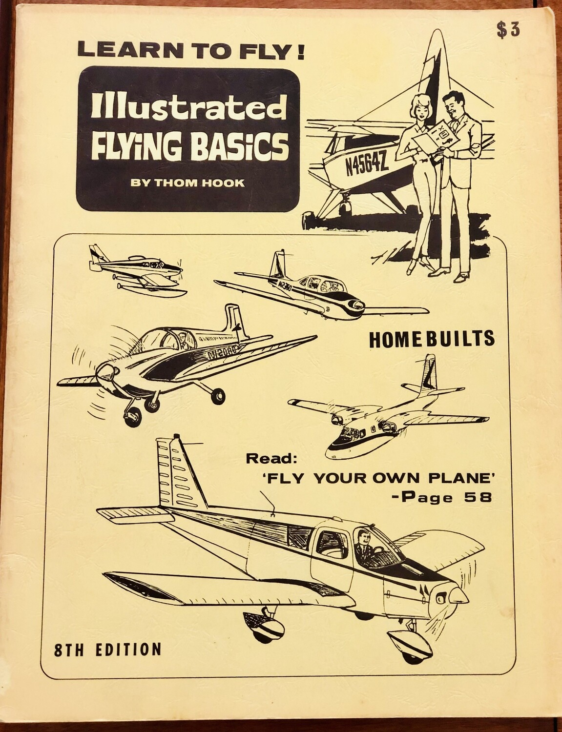 Illustrated Flying Basics by Thom Hook 8th Rivised Edition