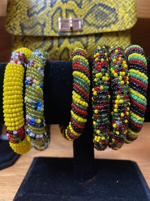 Kenyan Beaded Bracelets