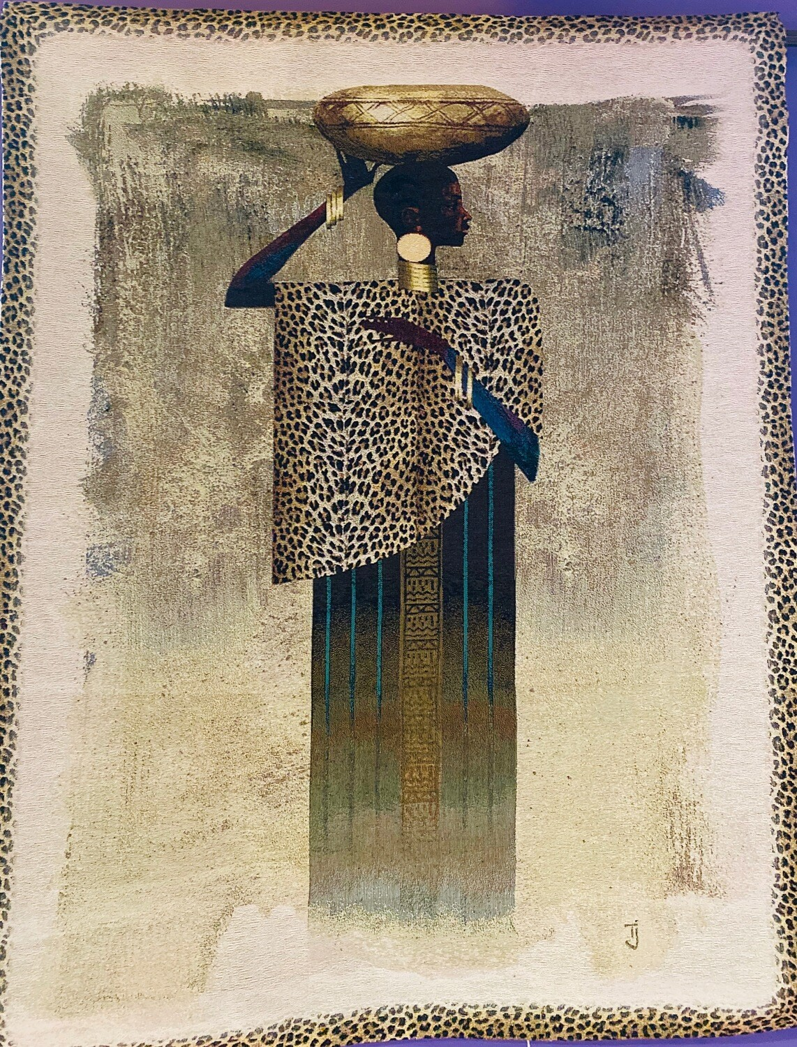 Worldly Woman (Tapestry)