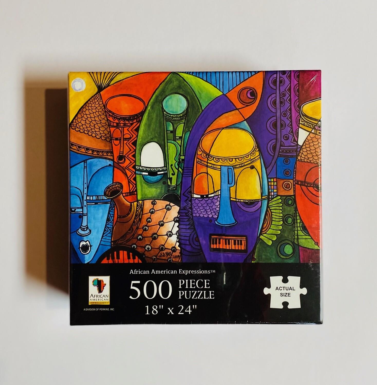 Puzzle - Masks