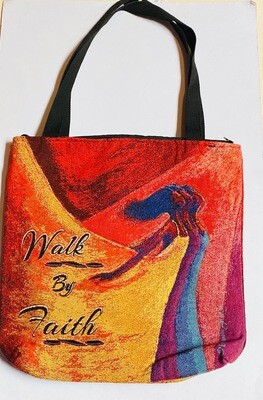 Shades of Color Tote Bag - Walk By Faith