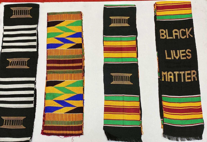 Hand-woven Kente Sash (choose type)