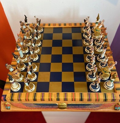 Deluxe Isis Chess Set