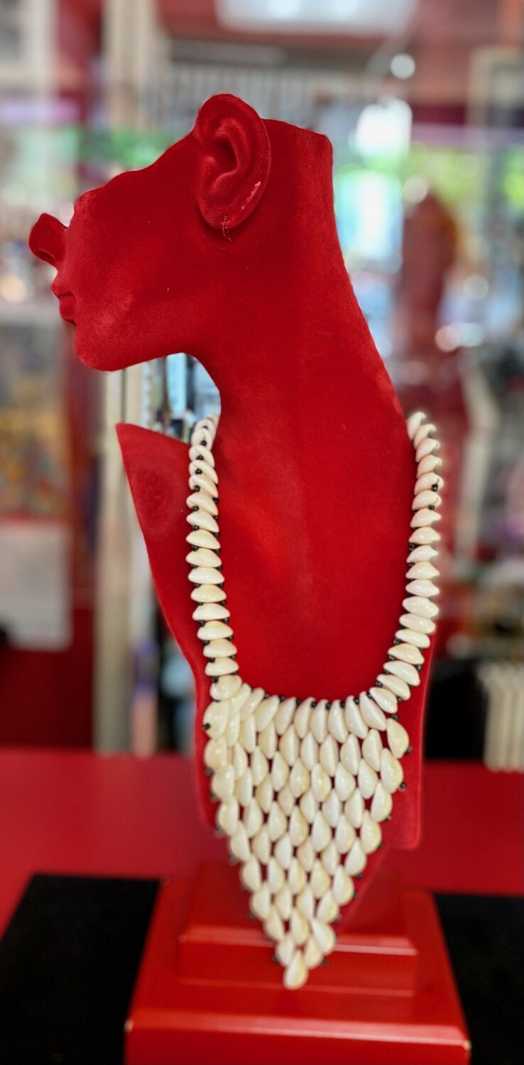 Cowrie Shell Necklaces (choose type by letter in order by picture)