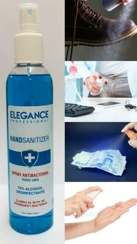 Hand Sanitizer Spray Presentation