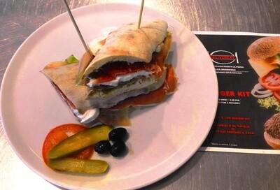 Panozzo Caprese (Bun, Typical Neapolitan bread)