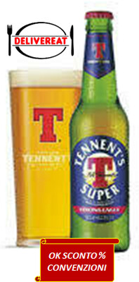 Tennent's, Super Strong Lager  33 cl.