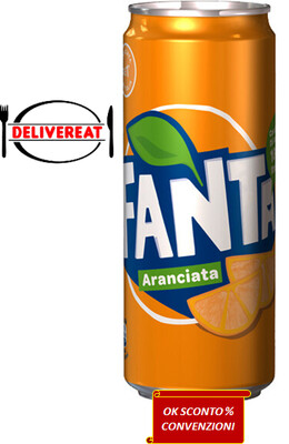 Fanta 33 Cl. Lattina // Orange drink Fanta 33 Cl.