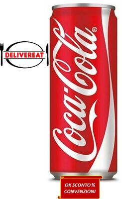 Coca Cola 33 Cl. Lattina (Coca Cola 33 Cl. Can)