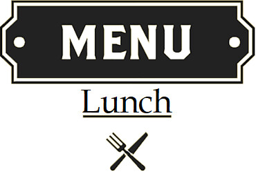 MENU' LUNCH