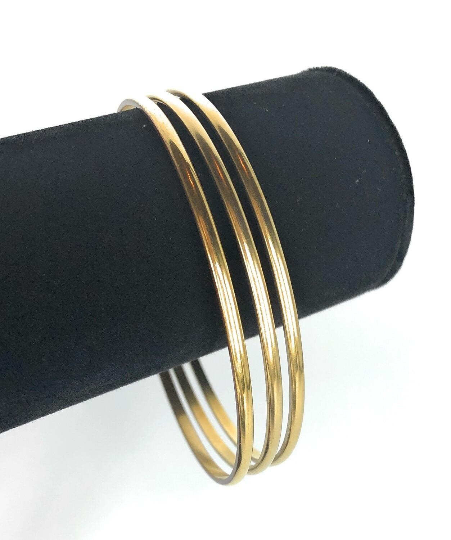 CLASSIC GOLD BANGLE