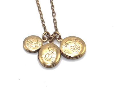 LOCKET CHARMS PETITE Gold