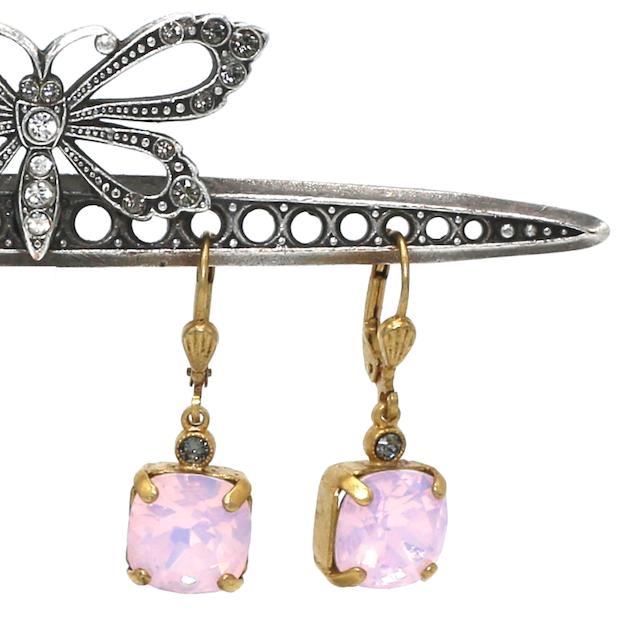 OPRAH Gold With Rose-Water Swarovski Crystal