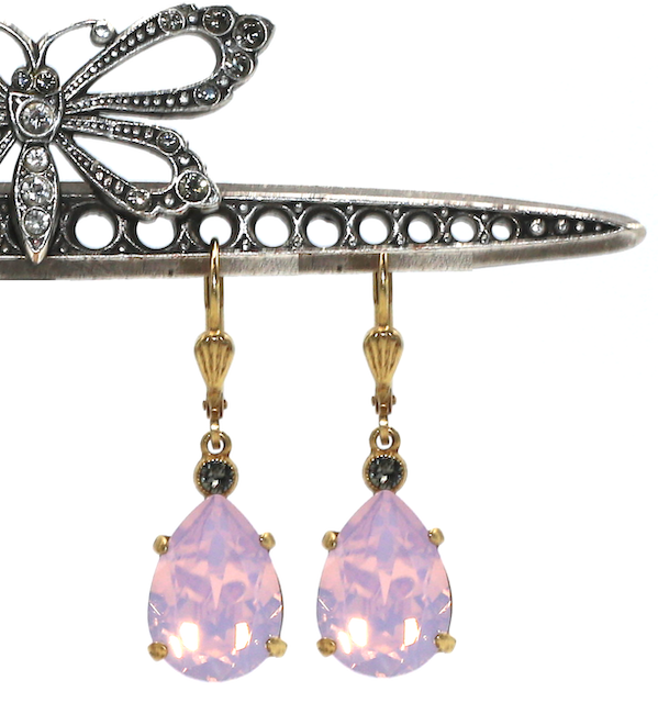 EMPRESS CUT Gold With Rose-Water Swarovski Crystal