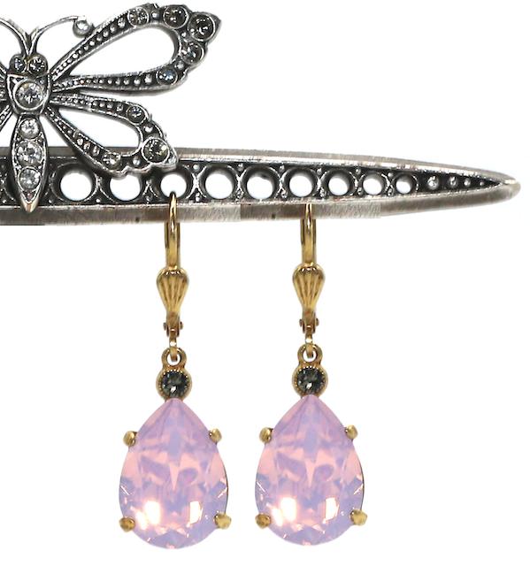 EMPRESS CUT Gold With Rose-Water Swarovski Crystal
