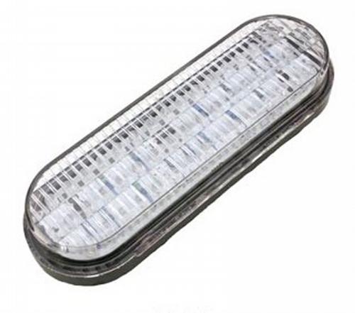 LED Exterior Light - 45 Diode 6 Inch Weatherproof Back Up Kit