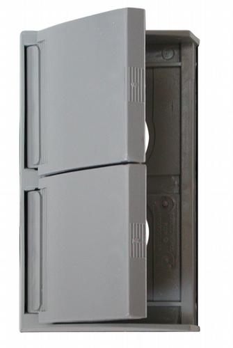 Weatherproof Standard Receptacle Cover - Grey
