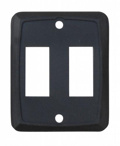 Double Face Plate - Black 3/bag