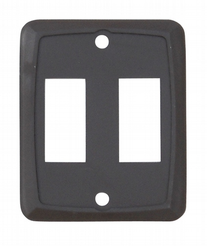 Double Face Plate - Brown 3/bag