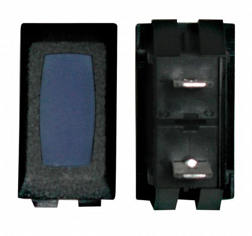 Illuminated Indicator Light - Blue/Black